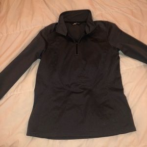 Women's north face quarter zip